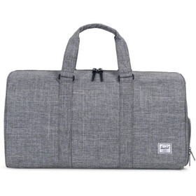 Herschel Novel Mid-Volume Duffle Raven Crosshatch